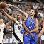 thunder blown out by spurs in game 1 of pivotal series 2016 images