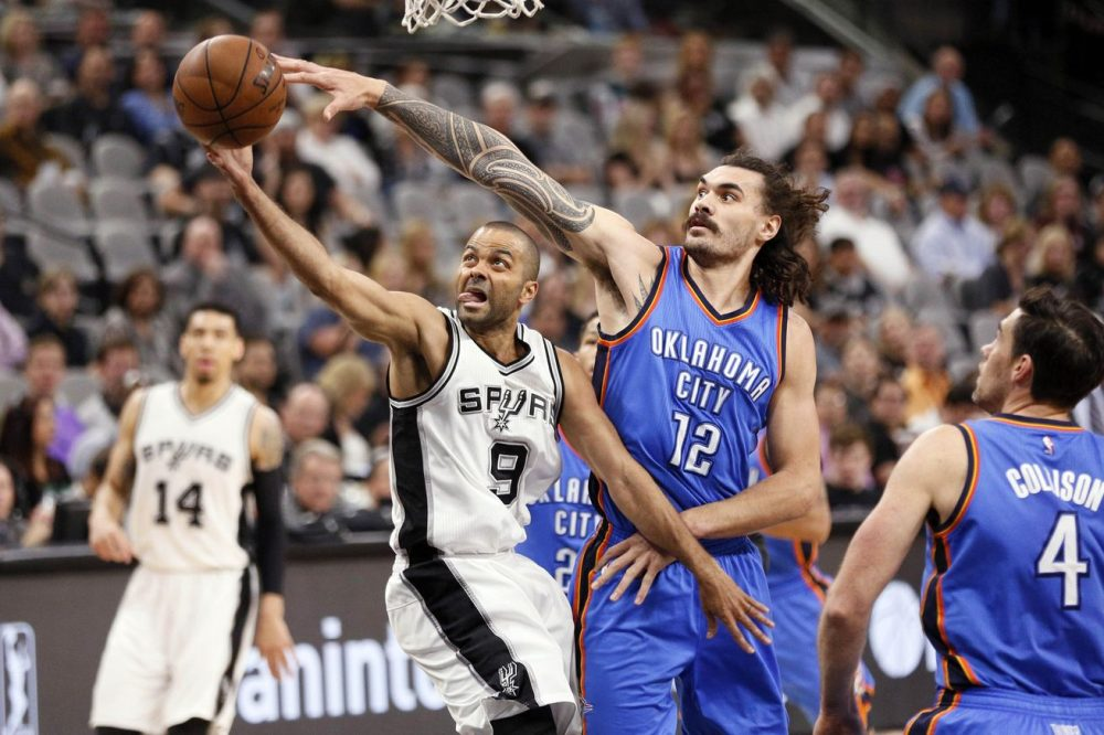 Thunder blown out by Spurs in Game 1 of pivotal series 124-92 2016 images