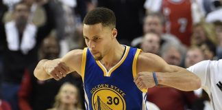 Stephen Curry's Warriors move into semifinals after Blazers win 125-121 2016 images