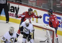 Washington Capitals out of 2016 Stanley Cup Playoffs after Penguins loss 2016 images