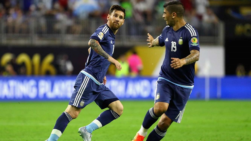 Goal machine lionel Messi leads Argentina to Copa final 2016 images