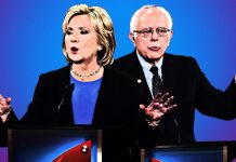 Hillary Clinton's California Primary hold diminishes to Bernie Sander 2016 images