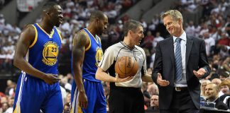 adam silver and steve kerr weigh in on draymond green 2016 images