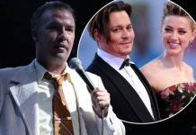 amber heard takes on another man with doug stanhope 2016 gossip