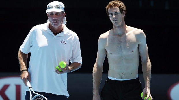 andy murray with coach ivan lendl 2016 atp tour