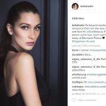 bella hadid instagram pics