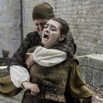 game of thrones arya stark stabbed 2016 images