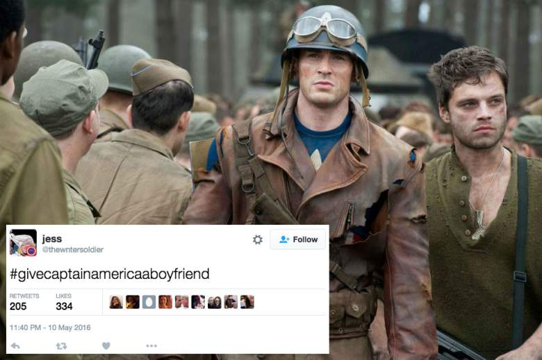 give captain america a bucky boyfriend