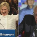 Hillary Clinton makes history but Bernie Sanders not ready to go yet