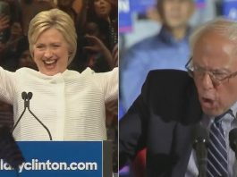 hillary clinton makes history but bernie sanders not ready to go yet 2016 images