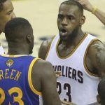 lebron james altercation with draymond green nba finals 2016