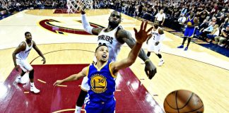 lebron james brings cavaliers to beat steph currys warriors 93-89 2016 images