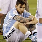 lionel messi leaves argentina team