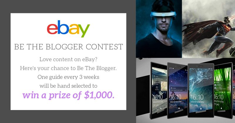 move tv tech geeks ebay be the blogger inspire us $1K contest