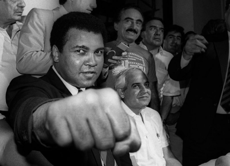 muhammad ali promoting genius
