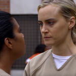 'Orange Is the New Black' 402 Power Suit aka Piper's fearful bully