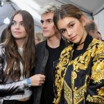 presley gerber and anwar scott work runway 2016 gossip