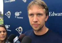 rams qb nick foles avoiding otas and jared goff 2016 images