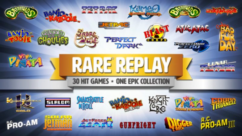 rare replay compilation