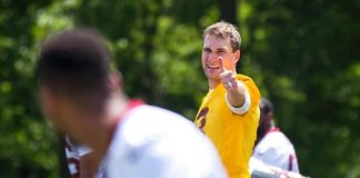 redskins kirk cousins getting help smart
