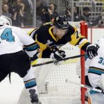 sharks chew up penguins stanley cup playoffs