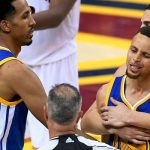 swtephen curry threw mouthpiece during game 6 nba finale