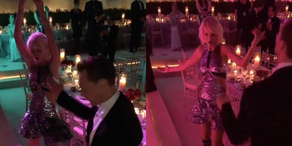 taylor swift with tom hiddleston at met gala