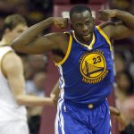 Warriors' Draymonc Green suspended for Game 5 NBA Finals 2016 images