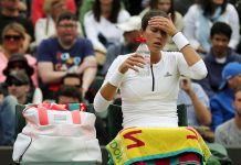 2016 wimbledon biggest women's losers tennis images