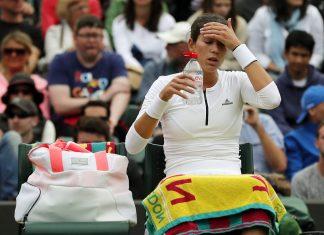 2016 wimbledon biggest women's losers tennis images