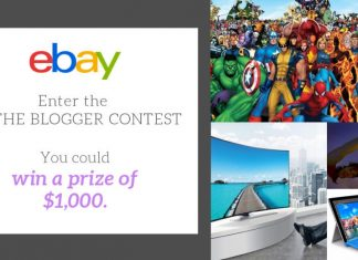 'Be the Blogger' eBay contest third winner hits 2016 images