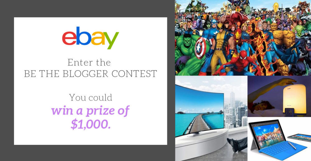 'Be the Blogger' eBay contest fourth and final winner announced 2016 images