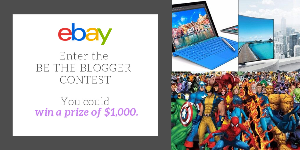 Ultimate Gift Guide: Win $1K with 'Be the Blogger' eBay contest Round 4 2016 images
