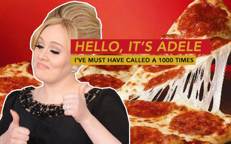 adele pizza run