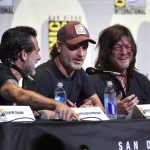 andrew lincoln at walking dead comic con