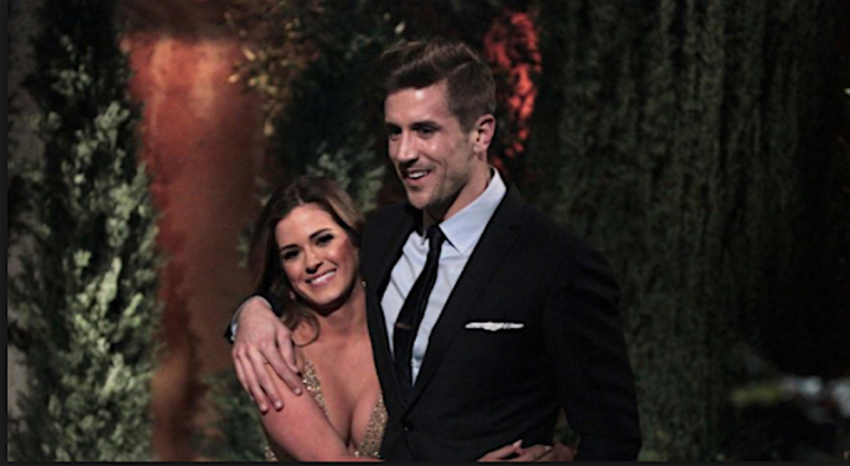bachelorette jordan rodgers with jojo fletcher