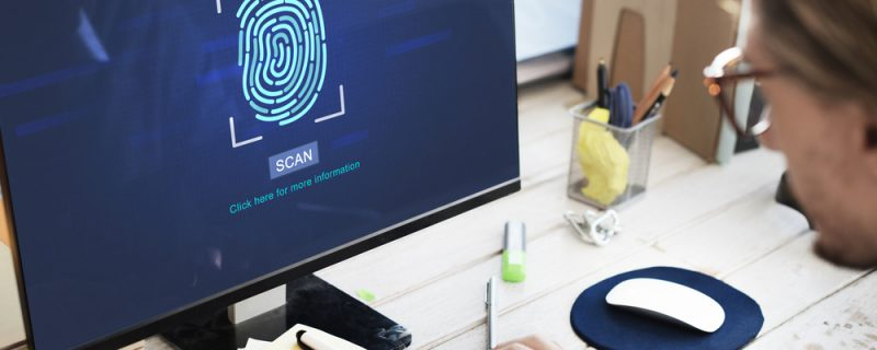 biometrics scan for computer