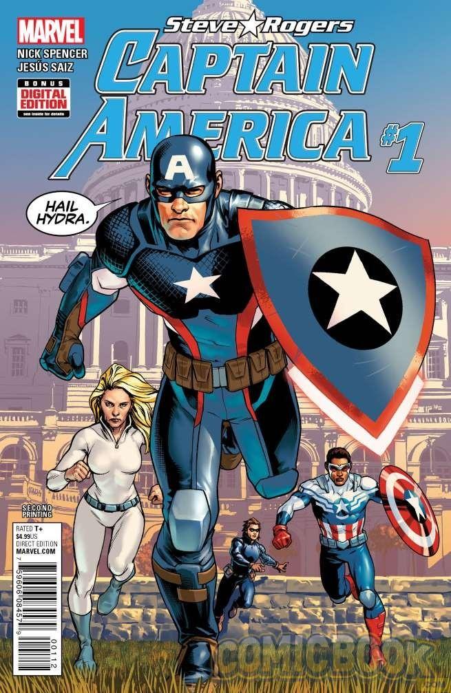 captain america comic image