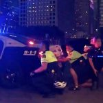 dallas under fire at black lives matter protest 5 officers killerd 2016 images