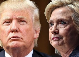 donald trump leading hillary clinton in key swing states 2016 images