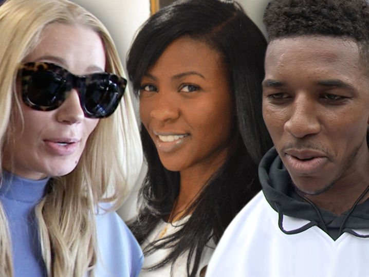 iggy azalea message for nick young and keonna green 2016 gossip