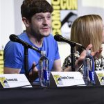 Iwan Rheon at game of thrones panel comic con 2016