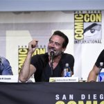 jeffrey dean morgan negan on walking dead comic con panel 2016