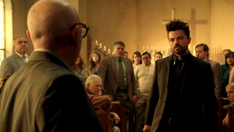 jessie converts to christian on preacher monster swamp