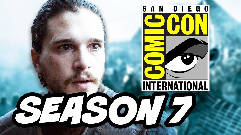 jon snow mia at comic con 2016 game of thrones panel recap images