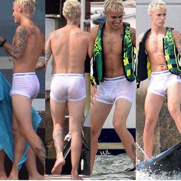 justin bieber wet underwear calvin klein contest
