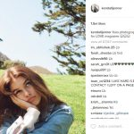 kendall jenner photography of kaia gerber