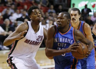 Kevin Durant, Hassan Whiteside Headline 2016 NBA Free Agency Period 2016 images