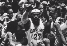 lebron james happy with city of cleveland again 2016 images