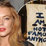 Lindsay Lohan's dad claims she's pregnant and motherly while smoking